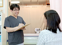 富田林市くめ鍼灸整骨院の問診