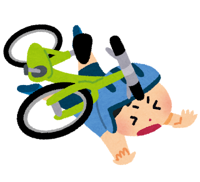 バイク事故で自転車と接触事故を起こしてしまったときはくめ鍼灸整骨院へ